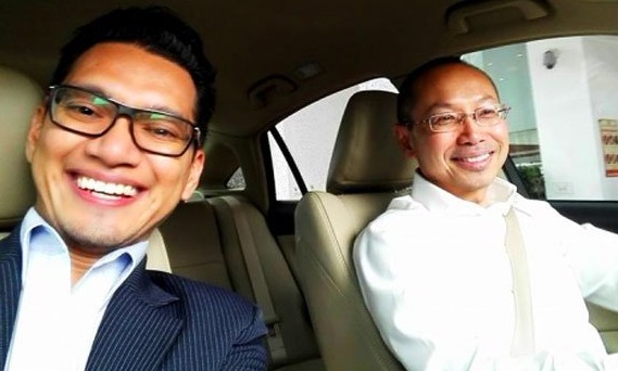 Netizen Puji Bekas Menteri, Wahid Omar Yang Menjadi Pemandu UBER