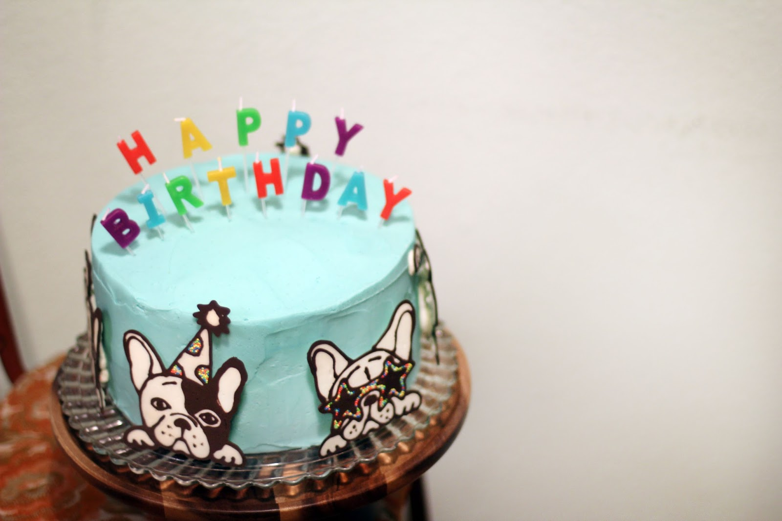 Elrods Sending Love From The West French Bulldog Cake