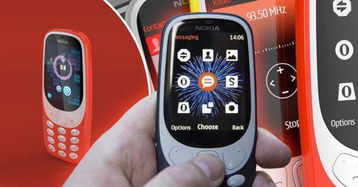 Al fin llegó el Nokia 3310; ¡y podrás volver a jugar Snake!