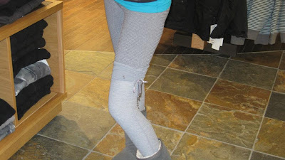 lululemon eternatl leg warmers