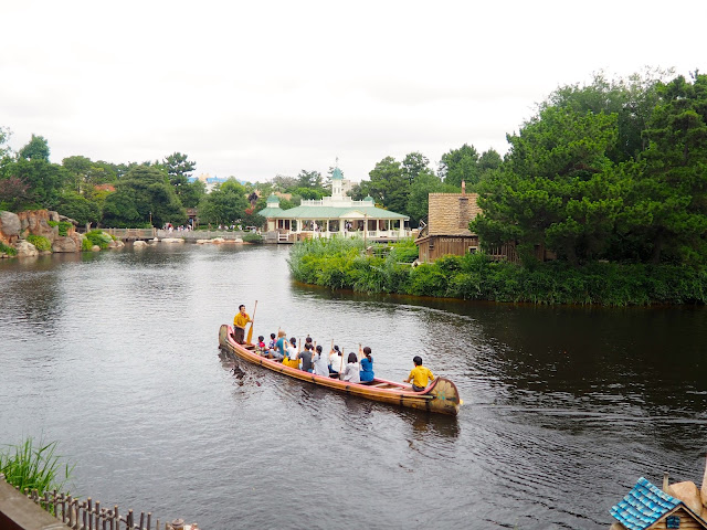 Westernland River, Tokyo Disneyland, Japan