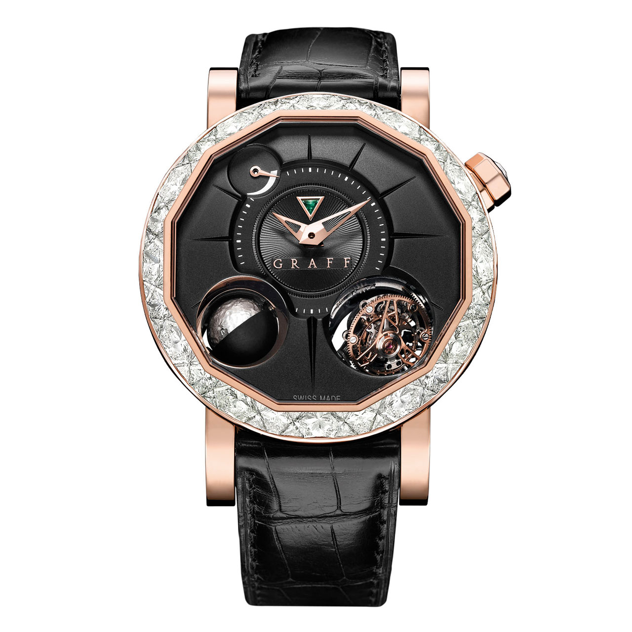 Graff Diamond GyroGraff Mechanical Hand-wound Watch