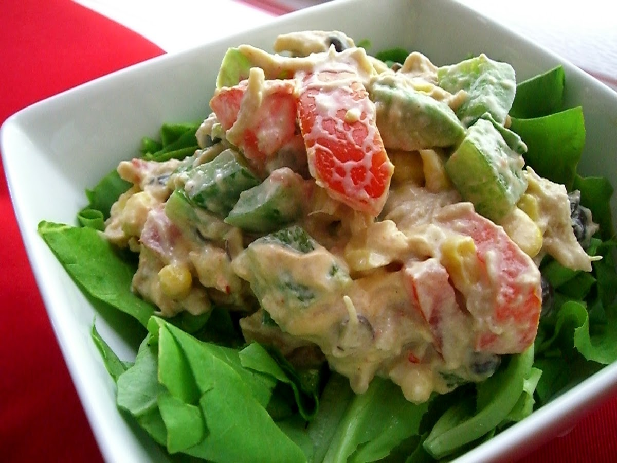 Chicken Salad of the Southwest Variety