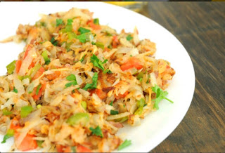Veggie Hash Browns Recipe