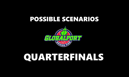 List of Scenarios for GlobalPort Batang Pier 2017 PBA Commissioner's Cup