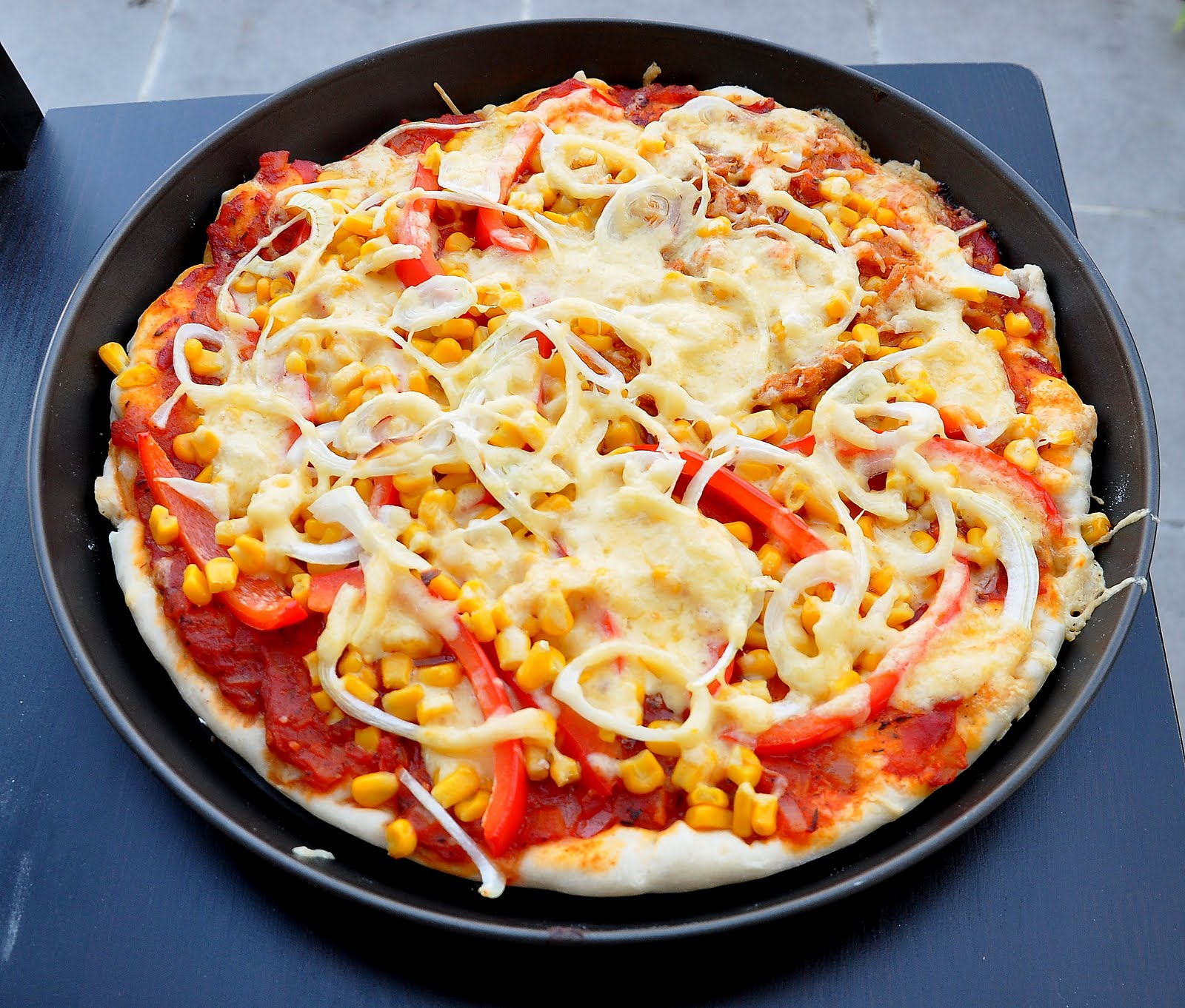 Vegetarische Pizza Vegetarische Pizza Mit Veganem Thunfisch The Vegetarian Diaries