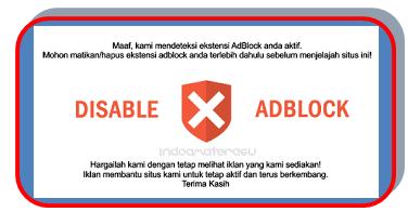Cara Memasang Anti Adblock Killer Terbaru