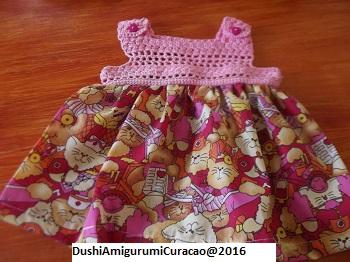 e1d34d6f7342c9 Dushi Amigurumi Curacao Nederlands Haakpatroon Baby Jurkje Met