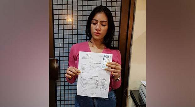 Gunakan Sabu, Reva Alexa Ditangkap Polisi