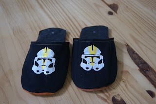 chaussons star wars