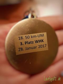 Rodgau 50 Ultramarathon 2017 Medaille