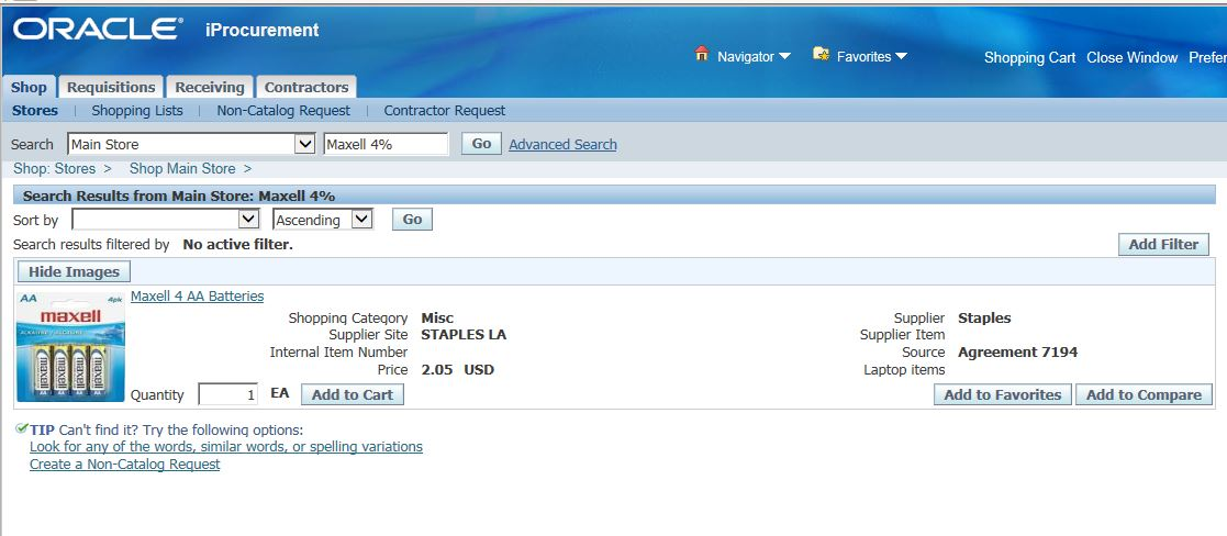 ORACLE MASTERMINDS: Upload Catalogue item Images in iProcurement