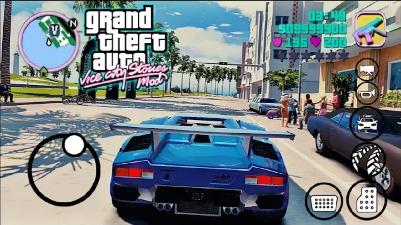 10MB] ENB Graphics MOD on GTA Vice City Android | Realistic