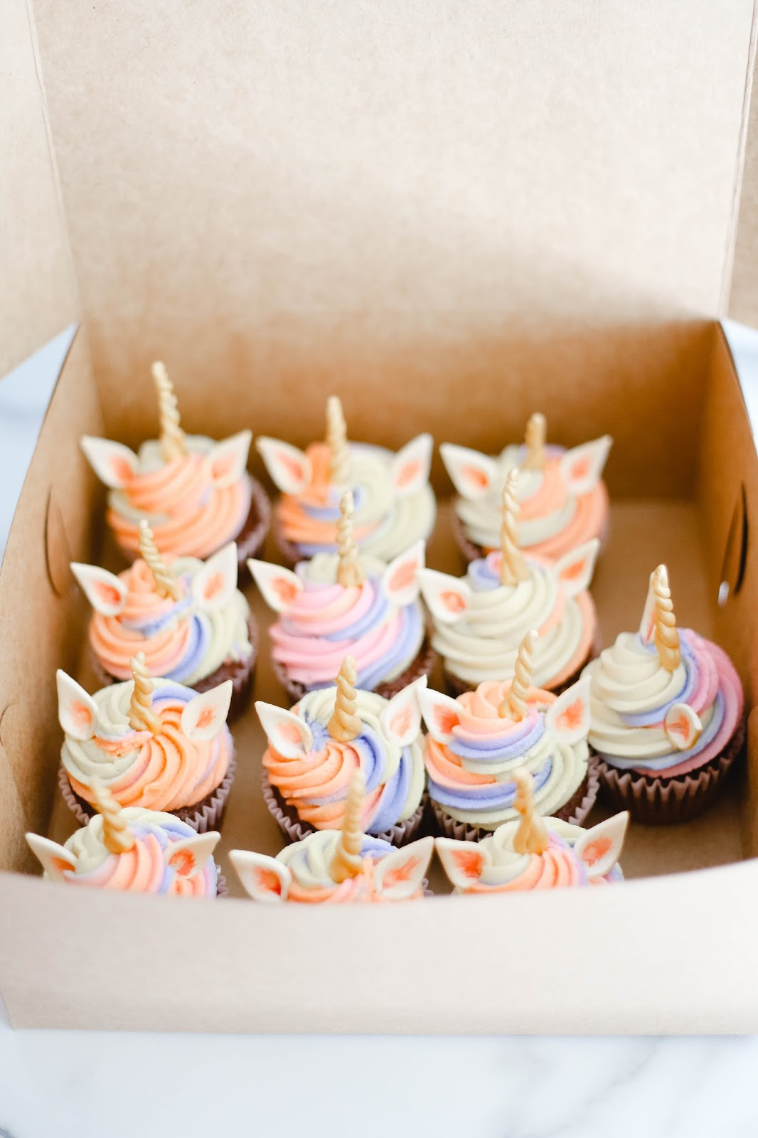Bright Amp Bold Unicorn Cupcakes