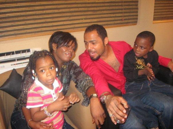 ramsey nouah wife children
