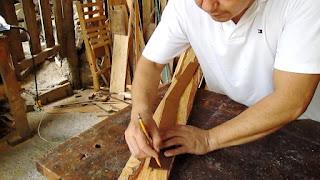 Pasar forma a la madera