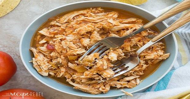 Slow Cooker Mango Salsa Chicken Recipe