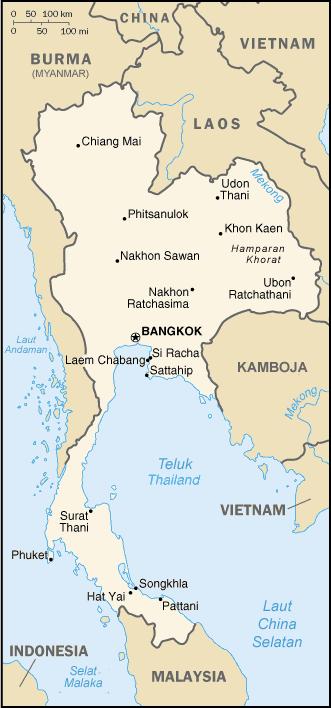 Letak Astronomis Thailand : letak, astronomis, thailand, Shrt's:, NEGARA, THAILAND
