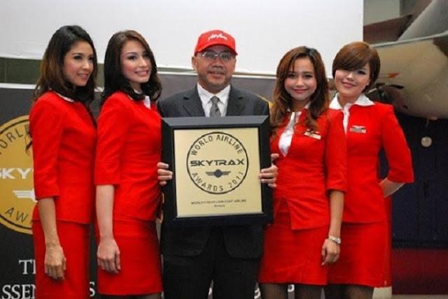 Air Asia còn được Skytrax bình chọn là hãng hàng không giá rẻ tốt nhất trên thế giới.