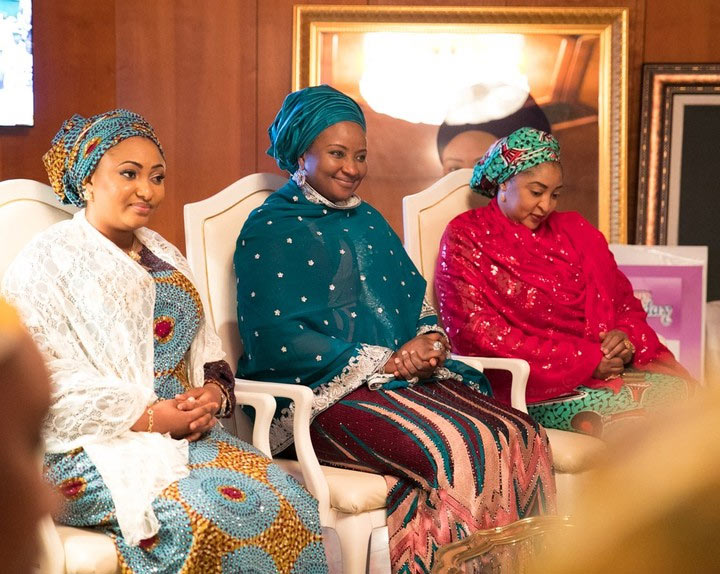 Photos: Northern governors' wives pay homage to Aisha Buhari