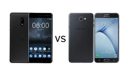 Nokia 6 vs Samsung Galaxy On Nxt