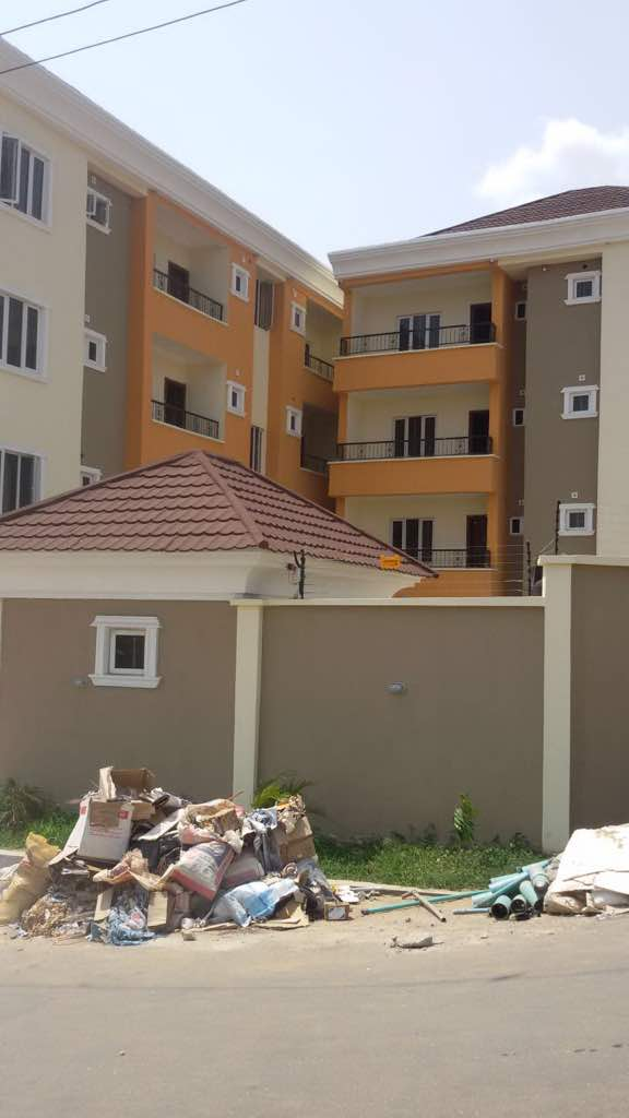 FOR SALE: Queen's Court Apartments, Yaba Lagos