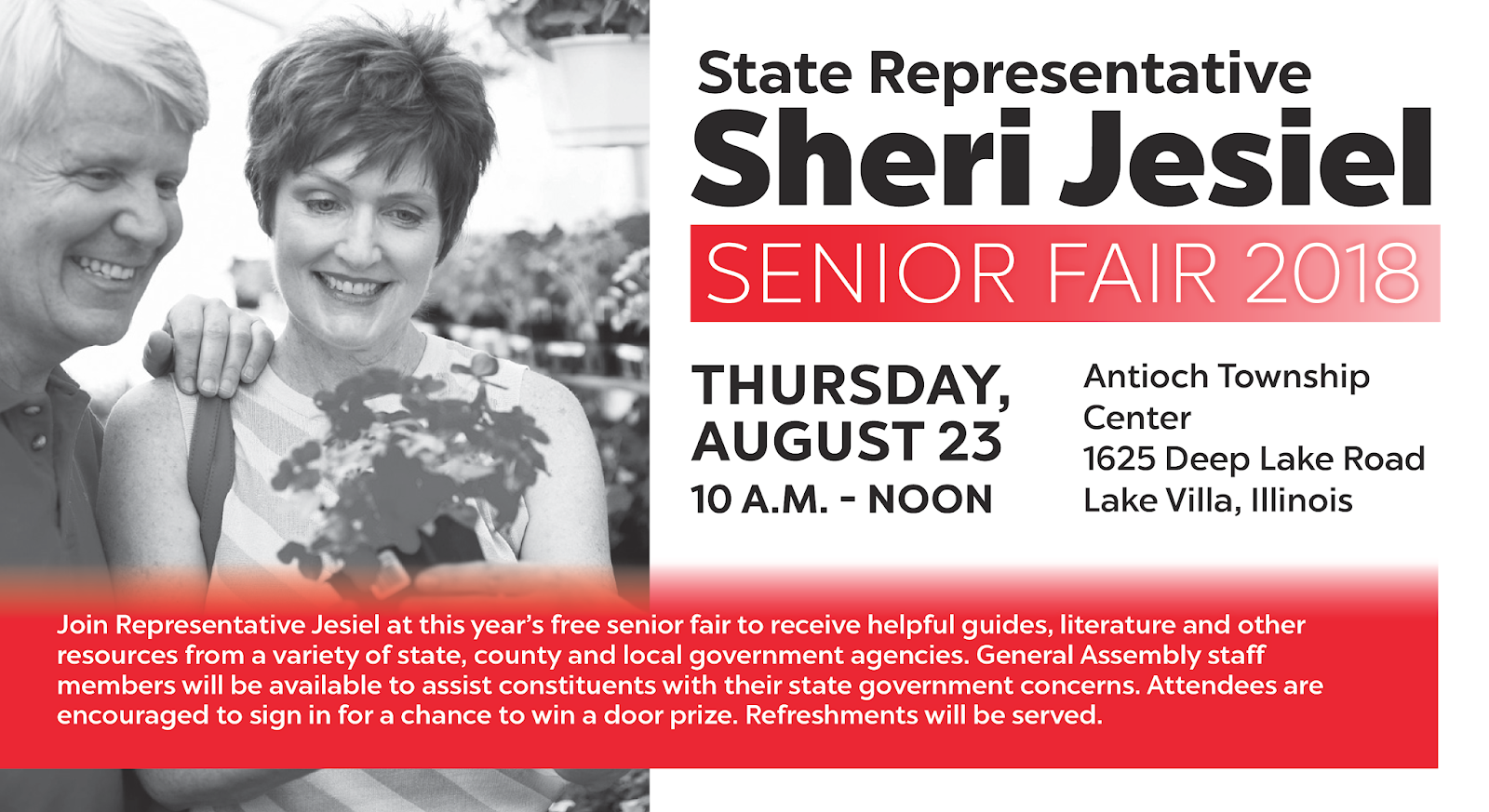 Illinois State Representative Sheri Jesiel Senior Fair 2018 Email This Blogthis Share To Twitter Facebook On Tuesday July 24