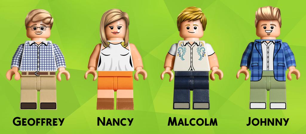 Tudo Que é Seu: The Sims 4 Lego