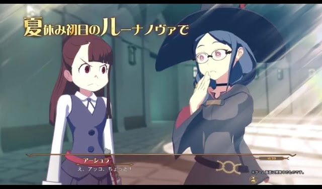 Bandai Namco released a new trailer for Little Witch Academia: Chamber of Time let's have a look at it