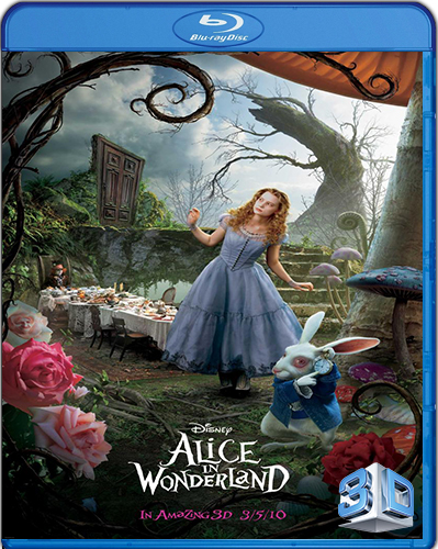 Alice in Wonderland [2010] [BD50] [3D] [Latino]