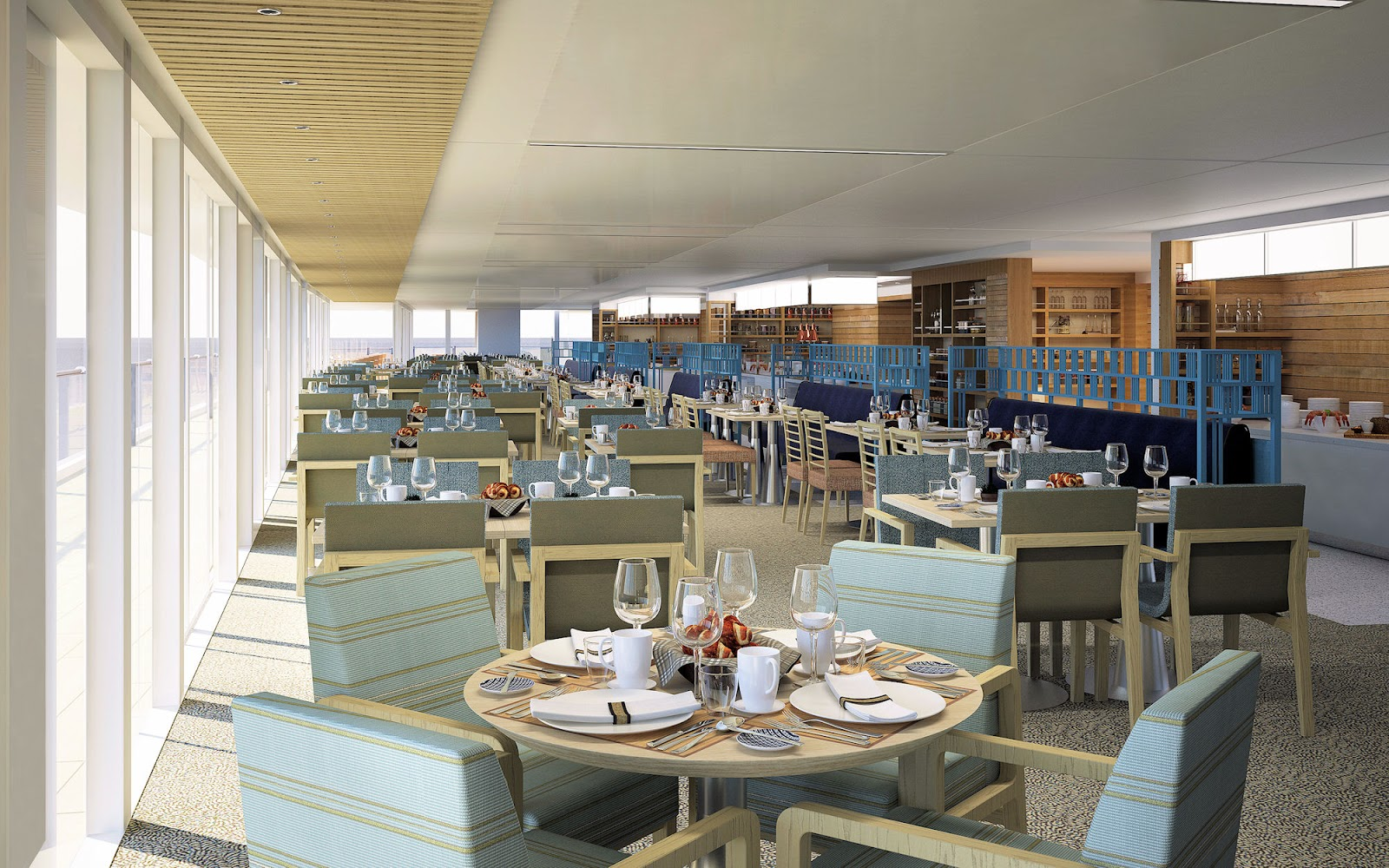 The World Café. Photo: ©Viking Cruises.