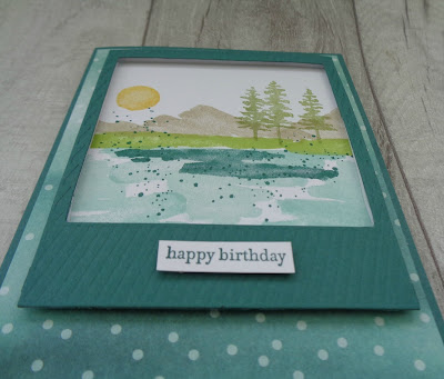 Craftyduckydoodah!, Stampin' Up! UK Independent  Demonstrator Susan Simpson, Waterfront, Teeny Tiny Sentiments, Coffee & Cards project March 2018, Supplies available 24/7 from my online store,