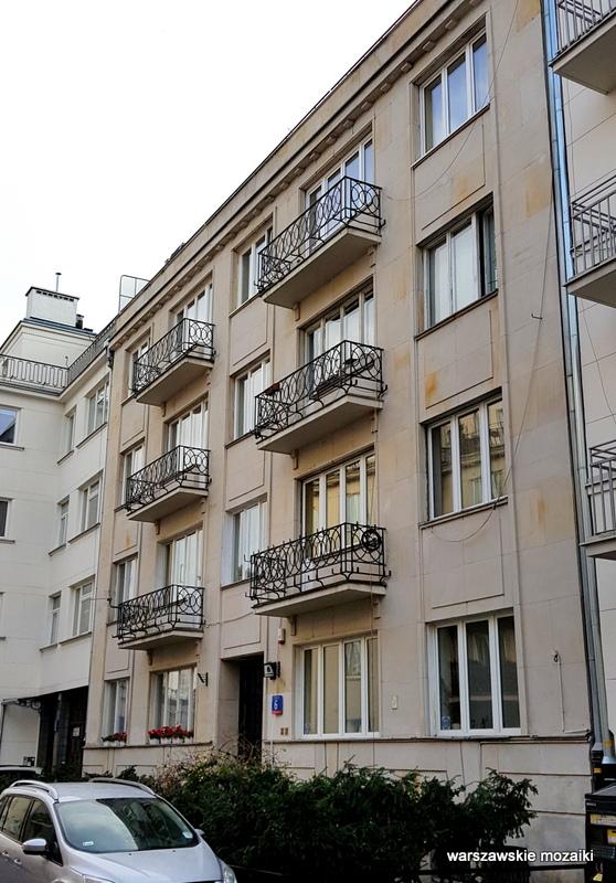Śródmieście Warszawa Warsaw Aleksander Więckowski art deco kamienica architektura lata 30.