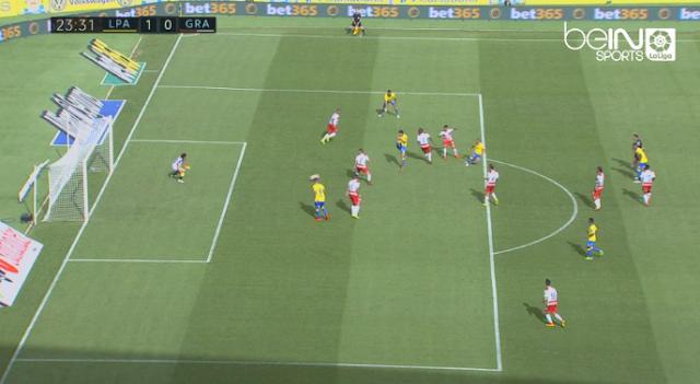 1-0 gol de Nabil El Zhar