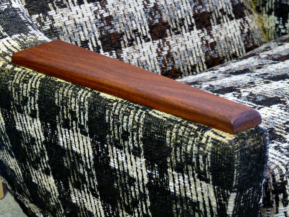 Use Danish Oil on Furniture Arms