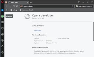 تنزيل, متصفح, اوبرا, النسخة, المطورة, Opera ,Developer, اخر, اصدار