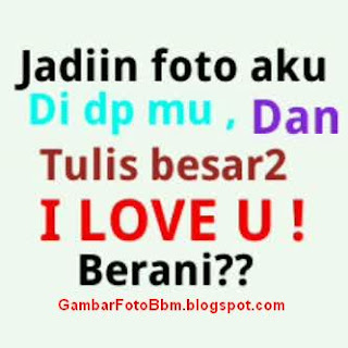 DP Foto Lucu I Love You