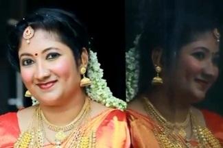 Indu with Rajeev Wedding Highlights