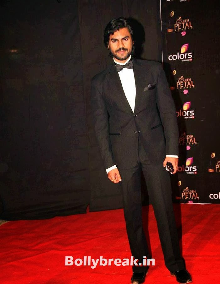 Gaurav Chopra, Colors Golden Petal Awards Dec 2013 Photos