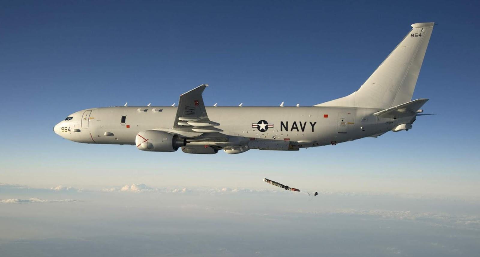 Pesawat intai Amerika ngintip latihan frigat Rusia di Mediterania