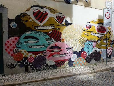 Graffiti, Streetart, Urbanart, Sumo, Lissabon, Bairro Alto