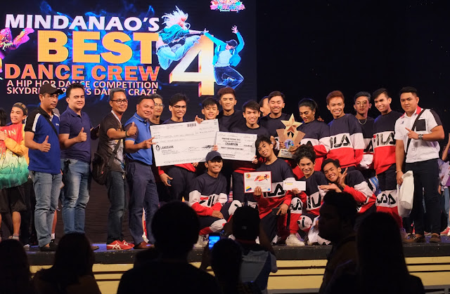 Davao City-based hip hop group named Mindanao's Best Dance Crew 2019 in Hinugyaw Festival