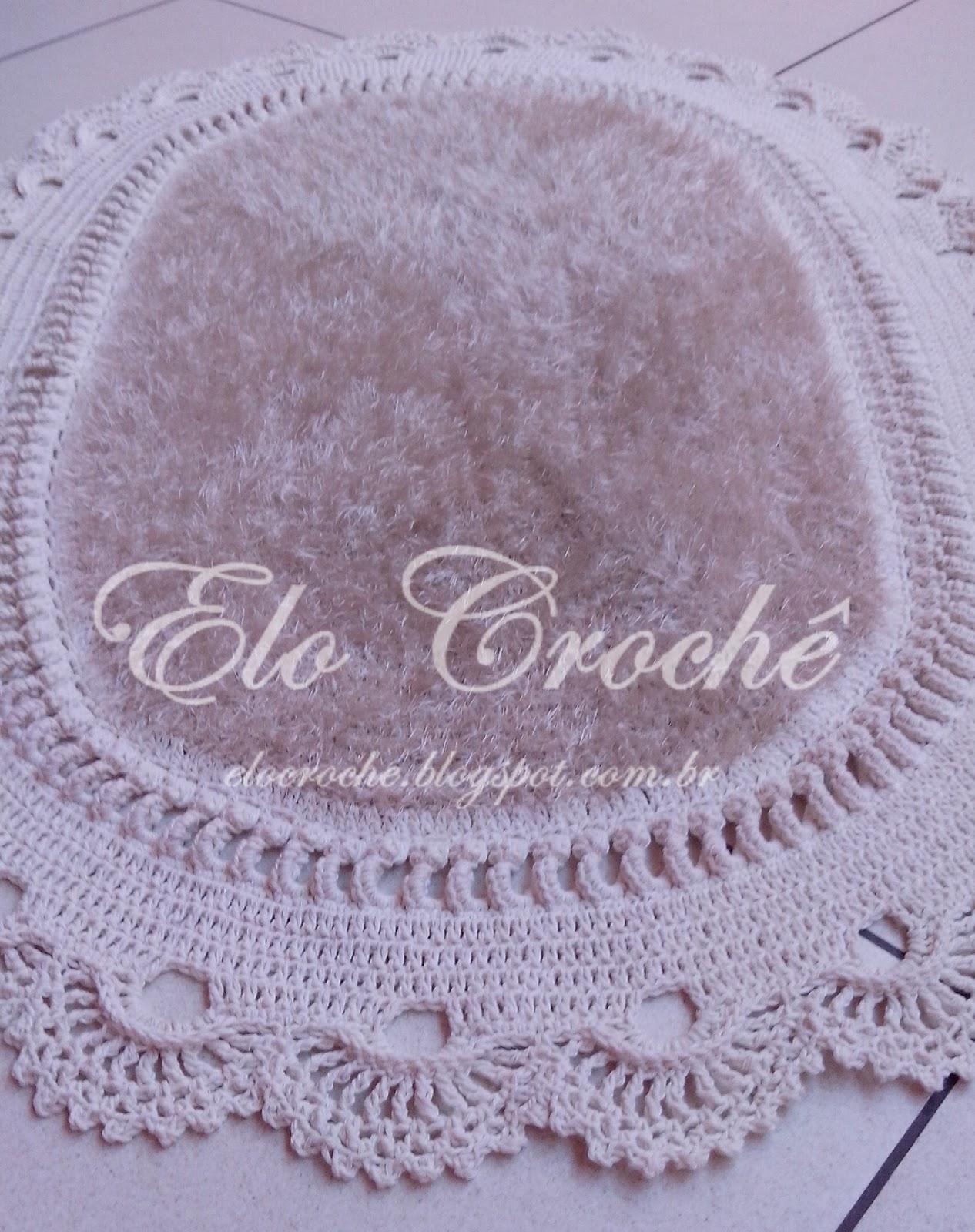 Crochê by Eloiza Castro: TAPETE PARA QUARTO DE CROCHÊ MAXI LUXO #3F2C45 1266 1600