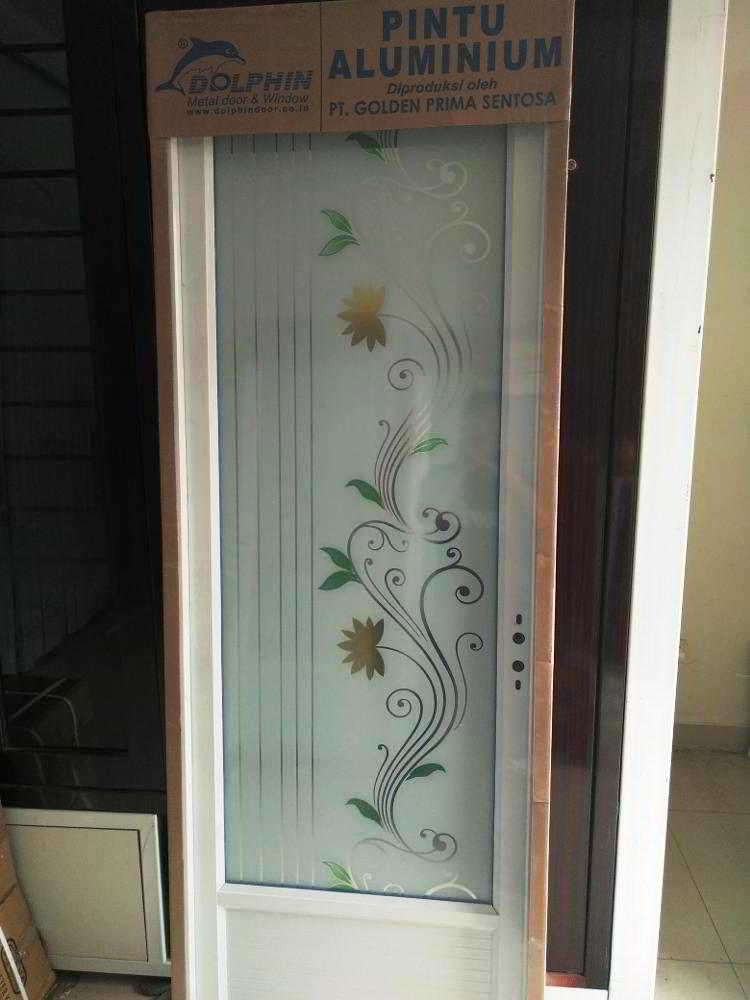 32 model pintu kamar mandi minimalis aluminium pvc