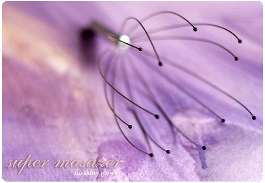 Chwalebne Alina Rose Blog Kosmetyczny: Super masażer głowy +reaktywacja loczków. KA72