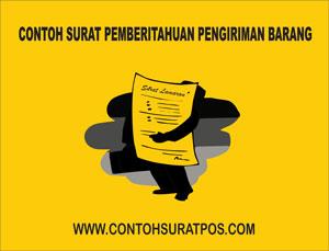 Gambar untuk Contoh Surat Pemberitahuan Pengiriman Barang