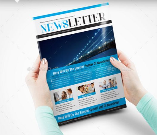 88. Newsletter Template 03