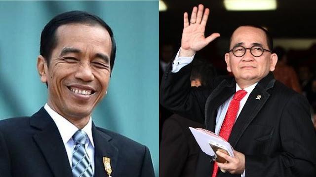 Ruhut Sitompul: Aku Pendukung Pak Jokowi 2 Periode, Siap Menang Siap Kalah
