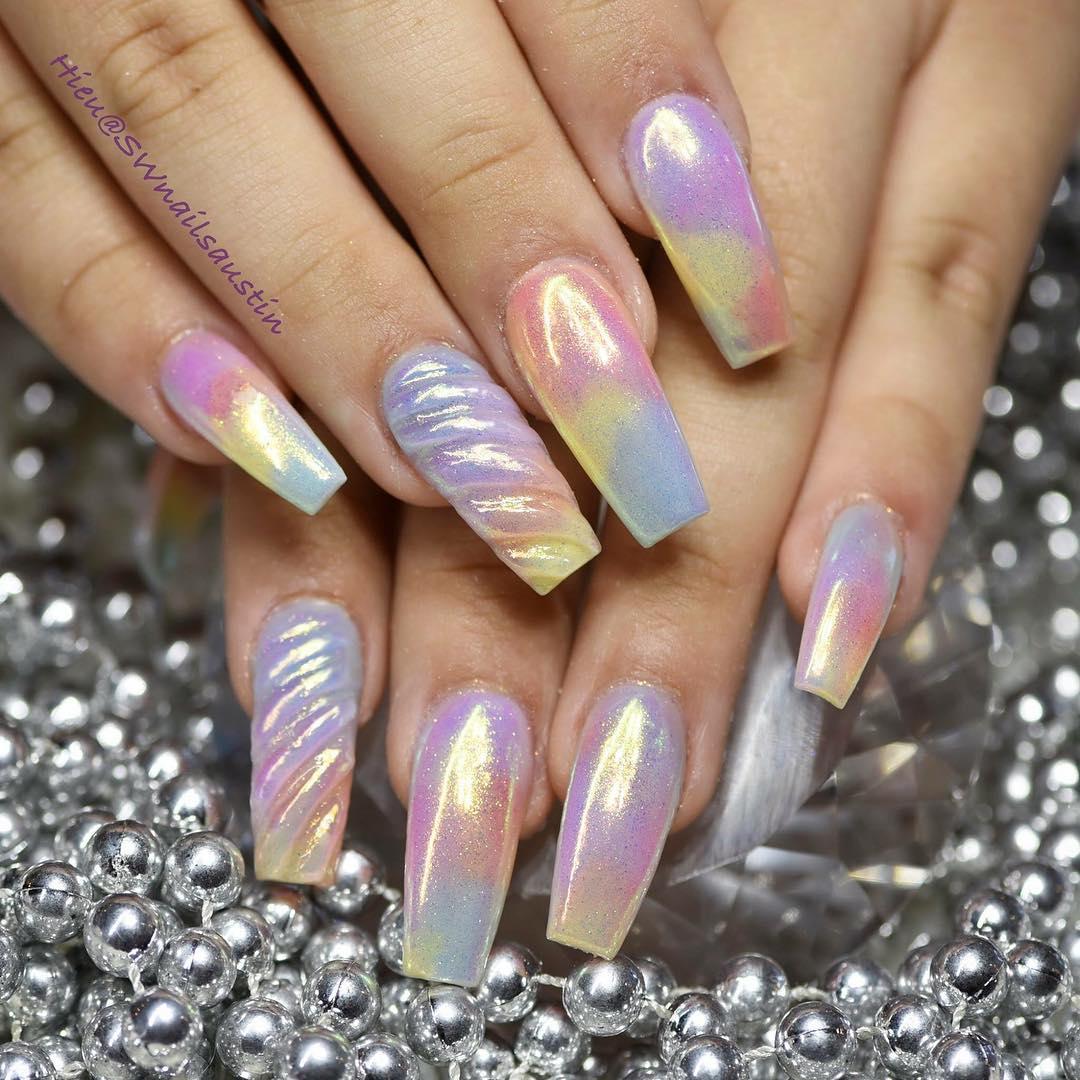 Ideas For Nails: Ballerina Nails: 5 Impressive Coffin Nails